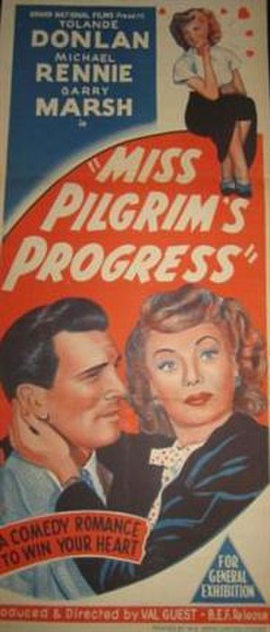 Miss Pilgrim's Progress - Original Australian poster