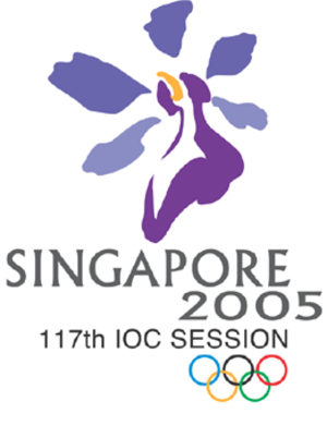 117th IOC Session - Logo of the 117th IOC Session, Singapore.