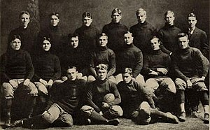 1906 Illinois Fighting Illini football team - Image: 1906 Illinois Fighting Illini football team