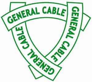 General Cable - General Cable's 1927 logo, representing three lengths of cable overlaid on one another