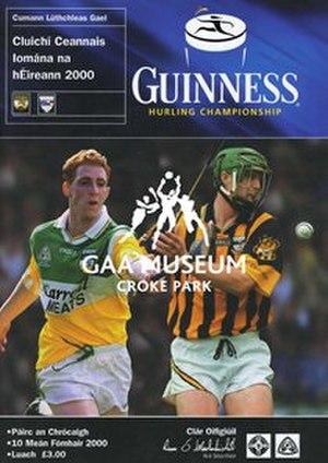 2000 All-Ireland Senior Hurling Championship Final - Image: 2000 All Ireland Hurling