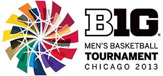 2013 Big Ten Conference Men's Basketball Tournament - 2013 Tournament logo