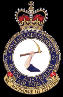 No. 24 Squadron RAAF Royal Australian Air Force squadron