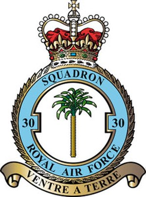 No. 30 Squadron RAF - 30 Squadron badge