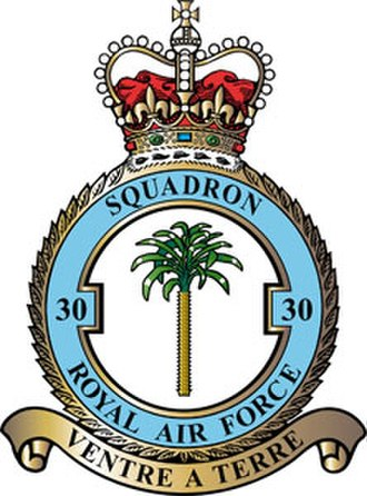 No. 30 Squadron RAF - Squadron badge