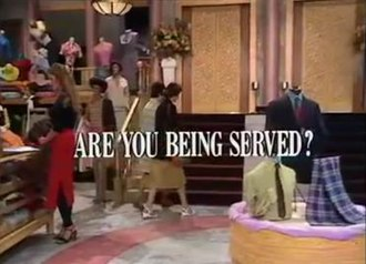Are You Being Served? - Typical Are You Being Served? intertitle