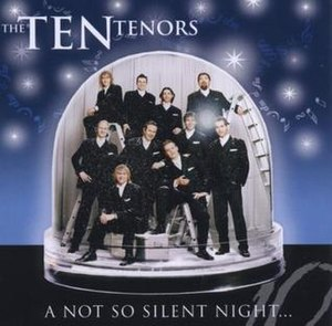 A Not So Silent Night - Image: A Not so Silent Night (EU) by The Ten Tenors