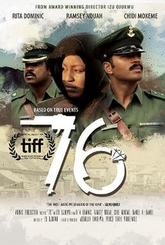 '76 (film) - Theatrical release poster