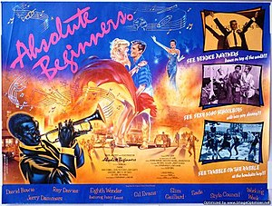 Absolute Beginners (film) - Theatrical release poster