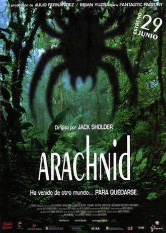 Arachnid (film) - Theatrical release poster