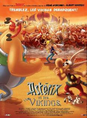 Asterix and the Vikings - French theatrical release poster