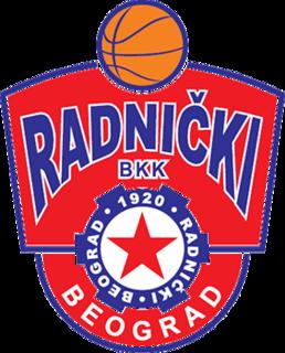 BKK Radnički Basketball club in Belgrade, Serbia