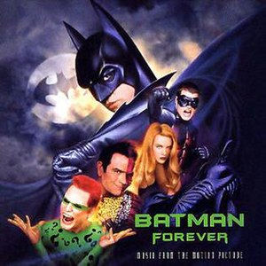 Batman Forever (soundtrack) - Image: Batman Forever soundtrack