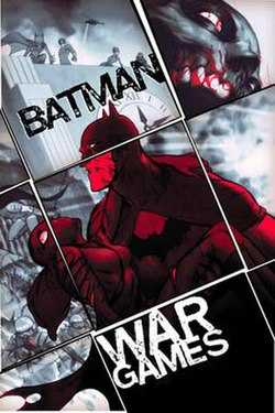 Cover to batman war games act three trade paperback october 2005