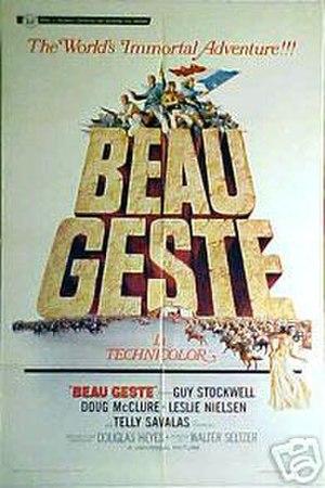 Beau Geste (1966 film) - film poster by Frank McCarthy