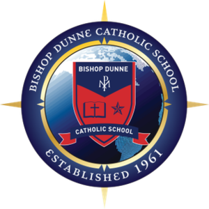 Bishop Dunne Catholic School - Image: Bishop Dunne 50Emblem