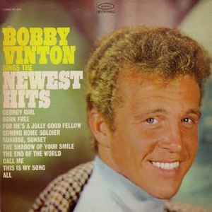 Bobby Vinton Sings the Newest Hits - Image: Bobbyvintonsingsnewe sthits
