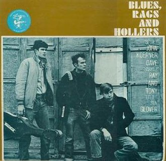 Blues, Rags and Hollers - Image: Brhelektra
