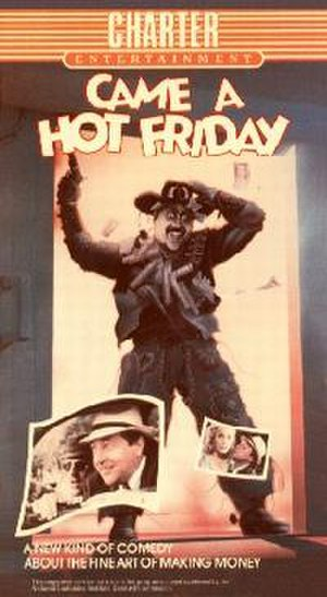 Came a Hot Friday - Promotional film poster