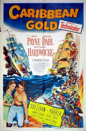 Caribbean Gold - Movie poster