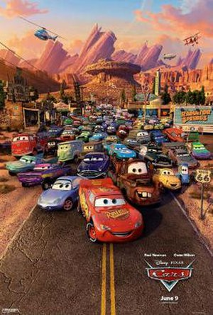 Cars (film) - Theatrical release poster