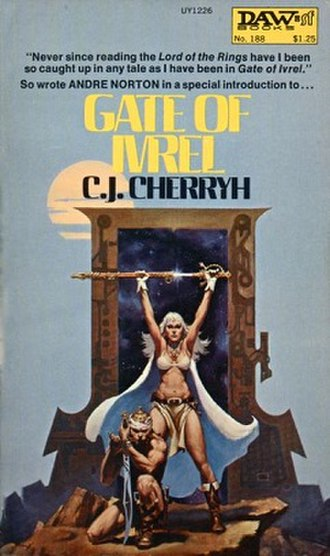 Gate of Ivrel - Gate of Ivrel re-issue with original cover artwork