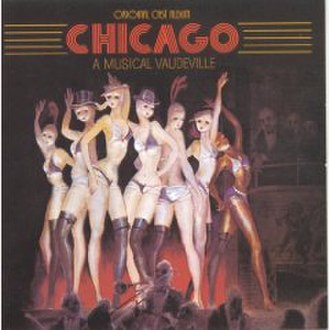 Chicago (musical) - Artwork for original Broadway cast recording (1975)