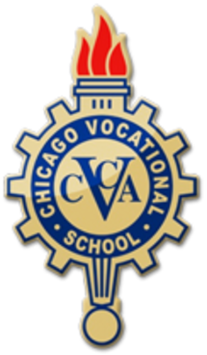 Chicago Vocational High School - Image: Chicago Vocational High School Logo