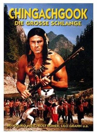 Chingachgook - Gojko Mitić playing Chingachgook the Great Serpent, in an eponymous East German western film.