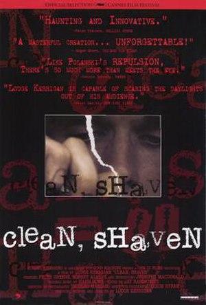 Clean, Shaven - Image: Clean shaven dvd