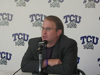 TCU Horned Frogs football - Gary Patterson, current head coach of the TCU Horned Frogs.
