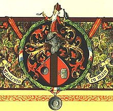 Confrerie des Chevaliers du Tastevin coat of arms.jpg