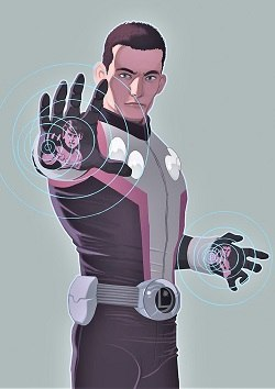Cosmic Boy (Post-Infinite Crisis version)