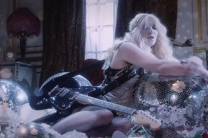 You Know My Name (Courtney Love song) - Image: Courtney Love – You Know My Name video still