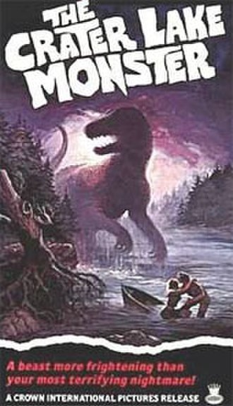 The Crater Lake Monster - Theatrical release poster