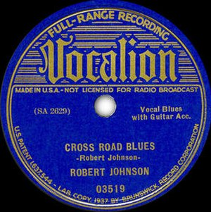 Cross Road Blues - Image: Cross Road Blues single cover