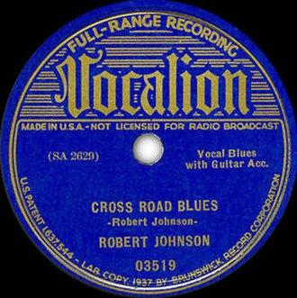 Cross Road Blues - Image: Cross Road Blues single cover
