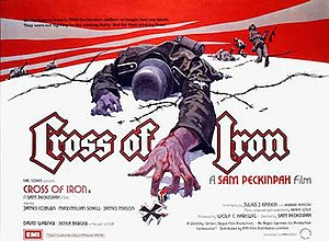 Cross of Iron - Original British 1977 quad format film poster