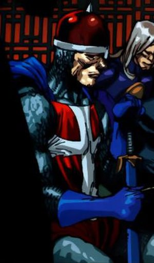 Crusader (Marvel Comics) - Crusader. Art by Leinil Yu.