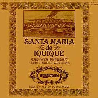 Santa María de Iquique (cantata) - Image: Cta sta maria