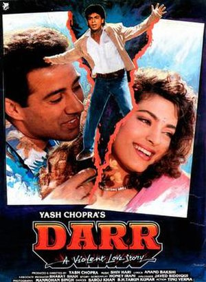 Darr - Theatrical Release Poster