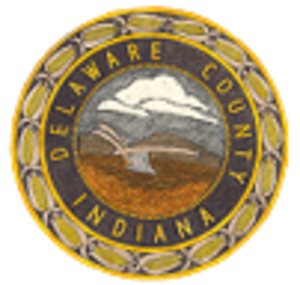 Delaware County, Indiana - Image: Delaware County, Indiana seal