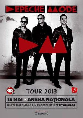 The Delta Machine Tour - Image: Depeche mode bucuresti 2013