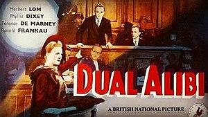 Dual Alibi - Image: Dual Alibi (1947 film)