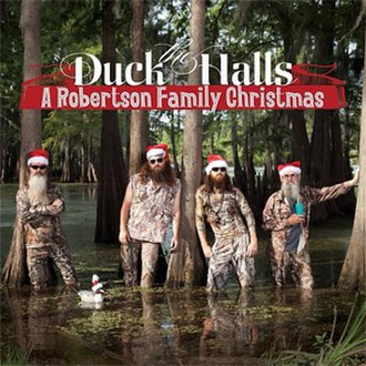 Duck the Halls: A Robertson Family Christmas - Image: Duckthehallscover