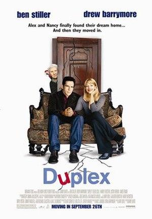 Duplex (film) - Theatrical release poster