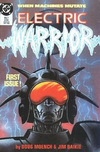 Electric Warrior (comics) - Image: Electric Warrior 1