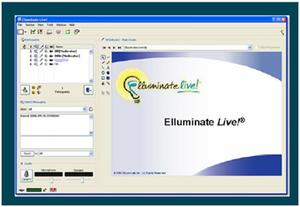 Elluminate Live - A screenshot of the Elluminate Live program