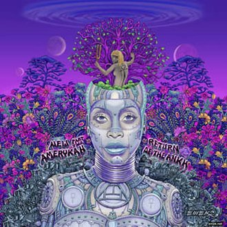 New Amerykah Part Two (Return of the Ankh) - Image: Erykah Badu New Amerykah Part Two