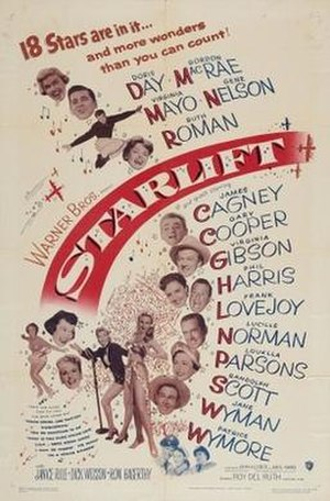 Starlift - Theatrical release poster